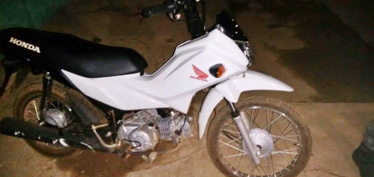 """Casal tem moto tomada de assalto na ladeira do """"S"""" em Marcolândia"""