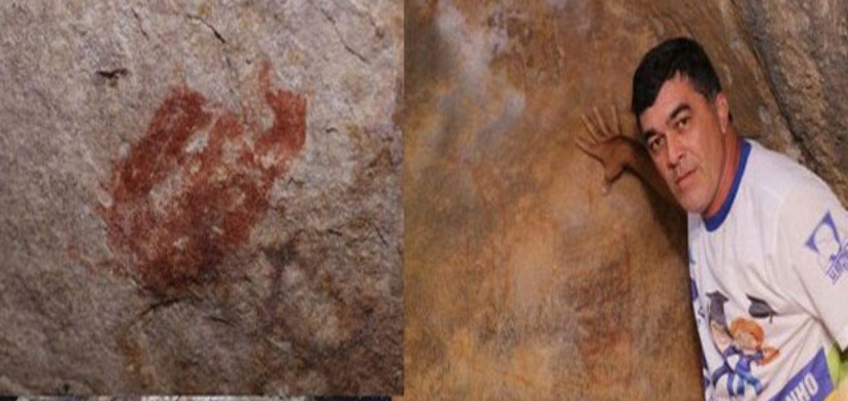 Professores descobrem registros rupestres em Pio IX, no Sul do Piauí