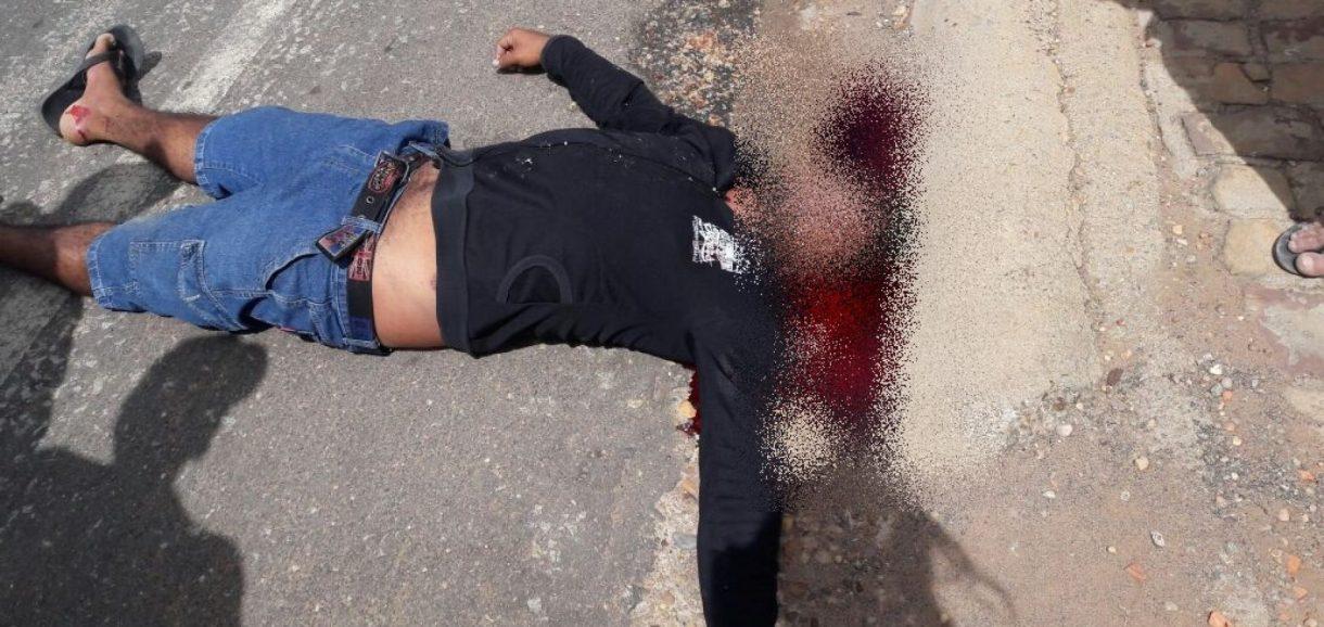 Suspeito de envolvimento com drogas é morto a tiros no povoado KM 87