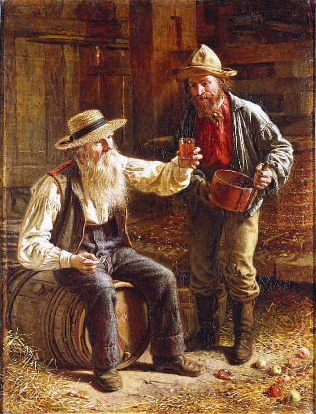 Cider-tasting by Thomas Waterman-Wood