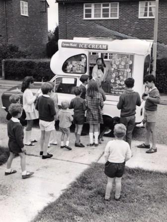 Ice cream van 1960s