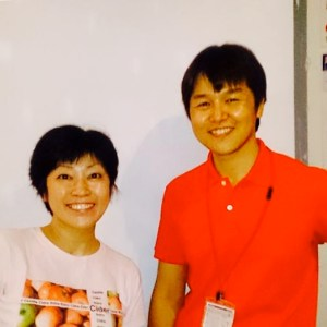 Tokyo Cider Collection organizers - Marie Tanaka & Tsukasa Ono