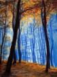 2013 - Crayons de Pastel/Pencils - Odenwald, la Forêt (Allemagne)