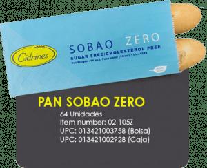Pan Sobao Zero