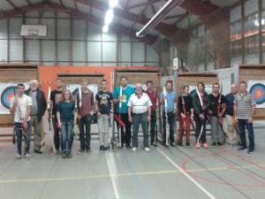Le groupe adulte initiation a explosé cette année avec 12 nouveaux archers