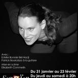 """Théâtre """"Saltimbanque"""" Affiche"""