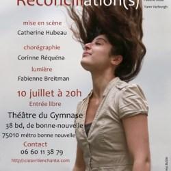 """Théâtre """"Réconciliations"""" Affiche"""