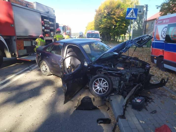 | Zdjęcie dotyczy Groźny wypadek w Gołotczyźnie. Co ustaliła policja? [zdjęcia] zostało dodane przez Portal ciechanowinaczej.pl - w dniu 2021-10-11 id nr: