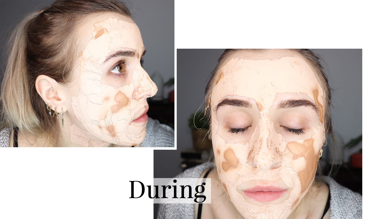 arbonne mask during images 2