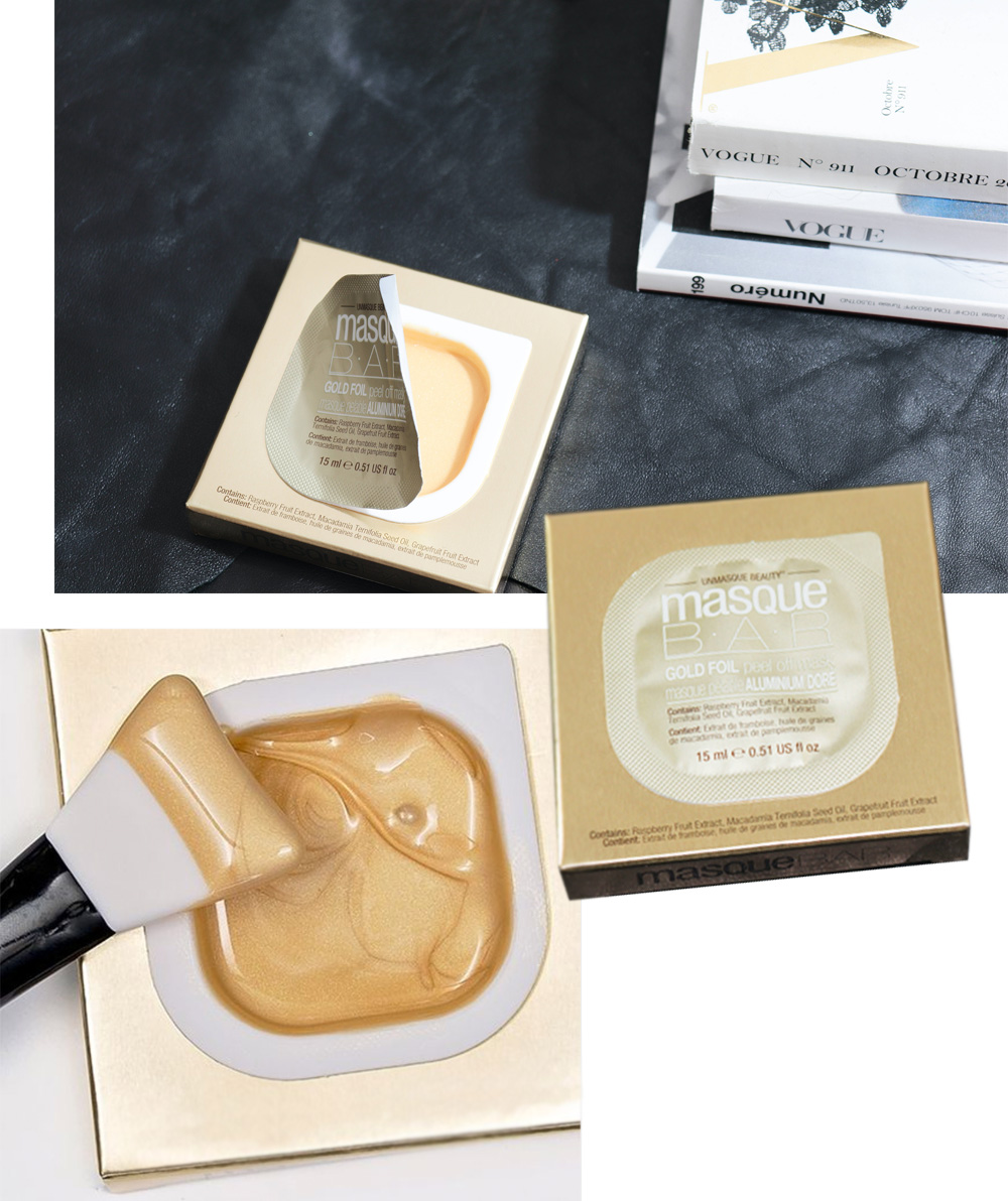Gold Peel Off Mask texture images