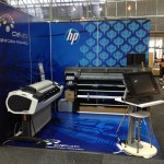 HP Designjet T2300 to the left