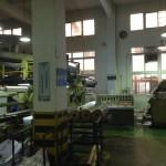 Adhesive vinyl line control staton
