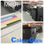 HP latex 3100 mesh calibration