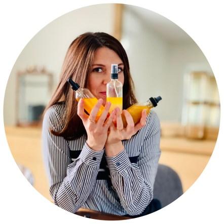 Claire Décamp fondatrice de Ciel Citron