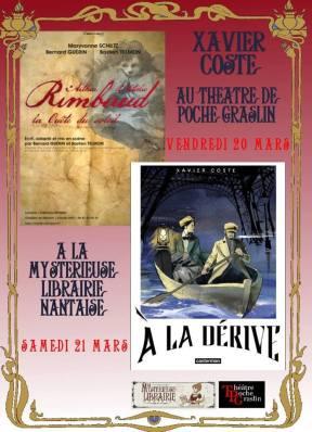 Aff Rimbaud et A la dérive
