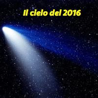 il cielo del 2016
