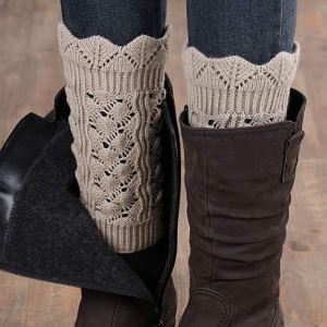 Leg Warmer Boot Socks