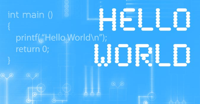 "A origem do ""Hello World"""