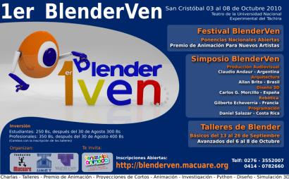 BlenderVen 2010