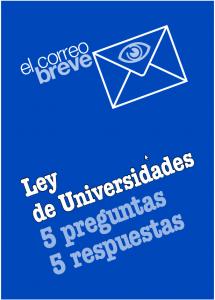 Ley de Universidades (LOE - 2011)