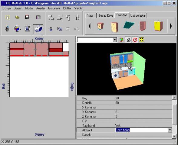 Dise o de cocinas en software libre ciencia con for Software diseno de cocinas 3d