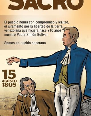 Pensamientos para la Reflexión – Simón Bolívar Monte Sacro