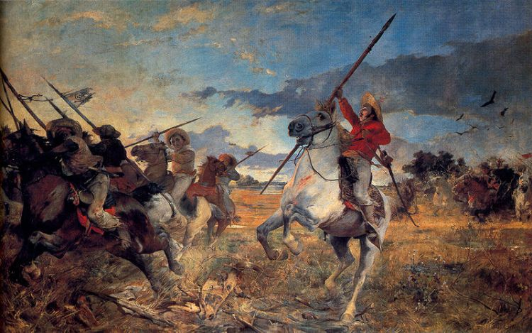 Obra Arturo Michelena - Vuelvan Caras - 1890