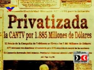 Privatizacion venezuela paquetazo