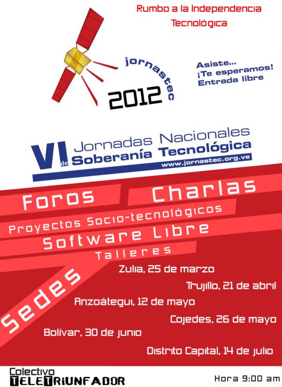 afiche Jornastec 2012