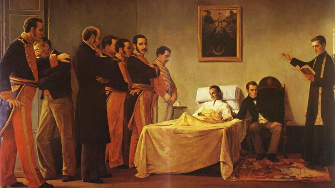 10 DE DICIEMBRE DE 1830: LA ÚLTIMA PROCLAMA DE EL LIBERTADOR