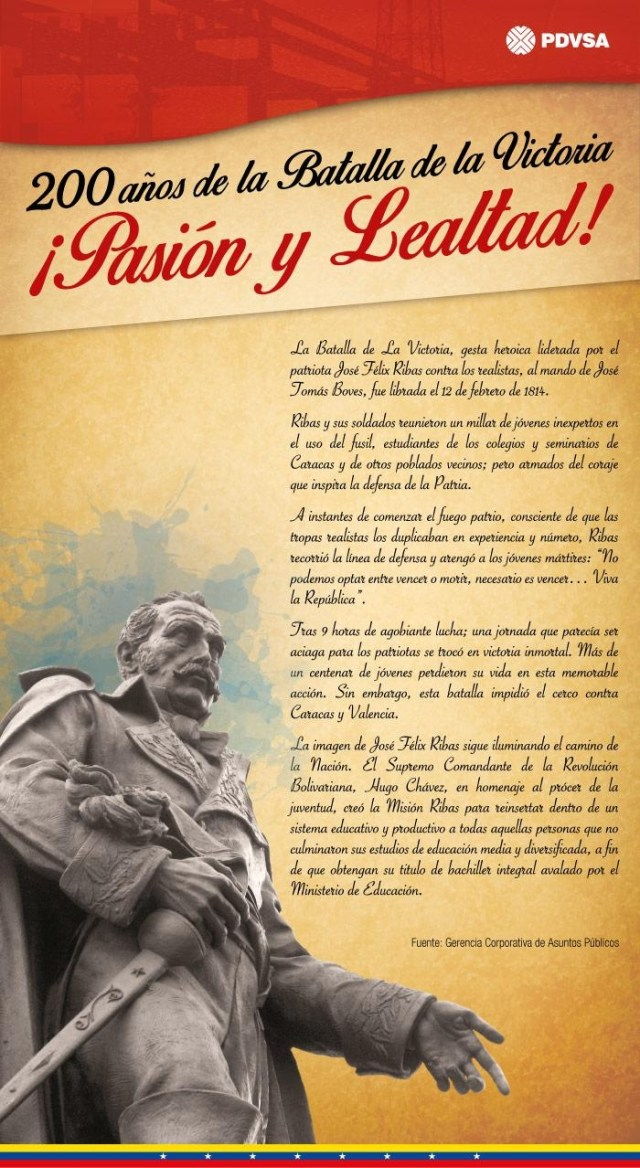Batalla de la Victoria: José Felix Ribas