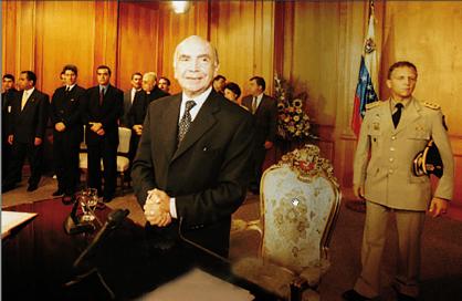 Carmona Estanga, Golpe de estado abril de 2002