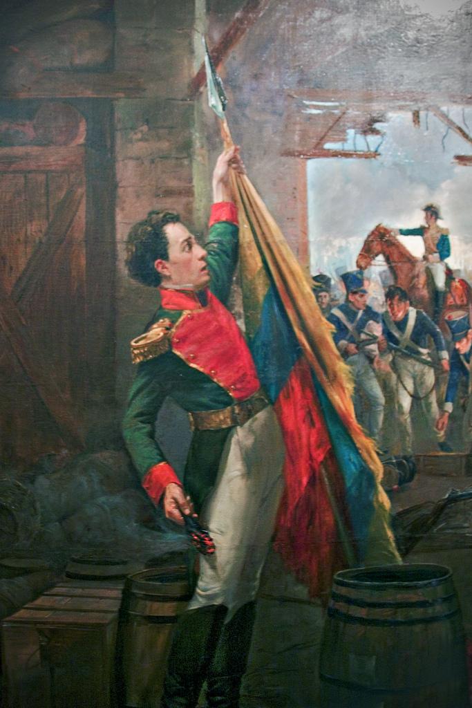 Antonio Ricaurte y la Batalla de San Mateo - Venezuela