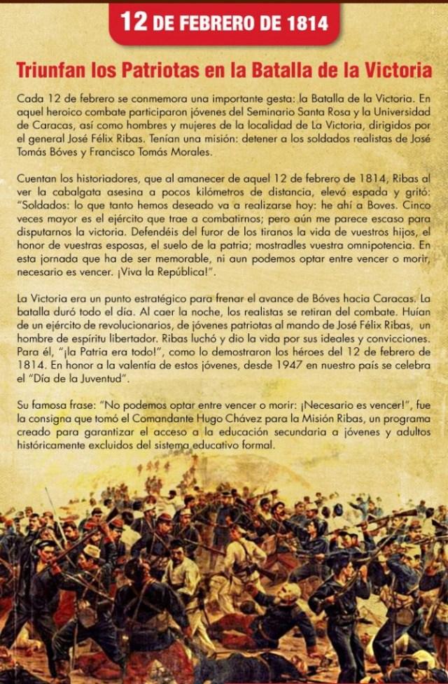 Batalla de la Victoria por José Félix Ribas