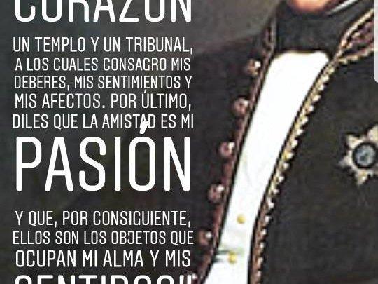 Simón Bolívar: La amistad es mi pasión