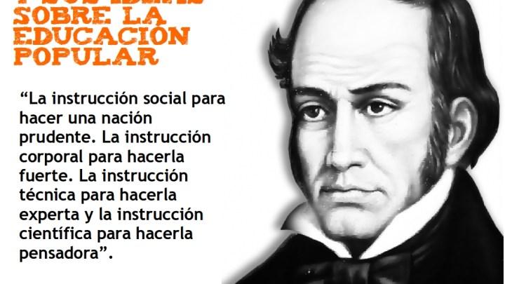 Simón Rodríguez y sus ideas sobre la Educación Popular