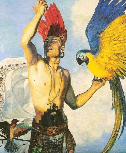 Pedro Centeno Vallenilla Quetzalcohualt, 1931