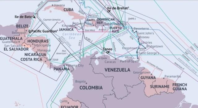 Cables submarinos América Latina
