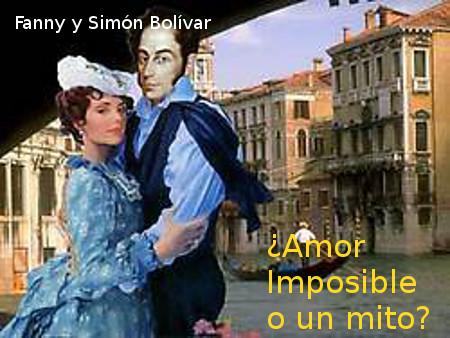 La prima Fanny el amor imposible de El Libertador Simón Bolívar
