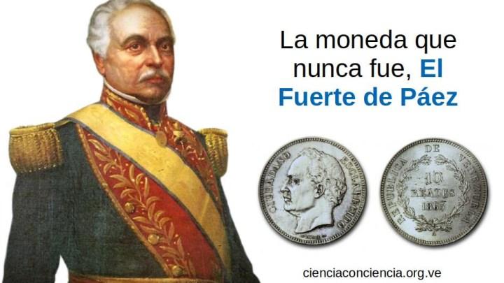 La moneda que nunca fue El Fuerte de Páez