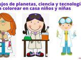 Dibujos colorear niños planetas