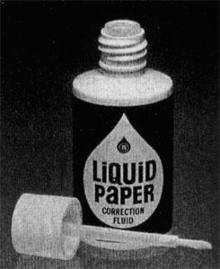 Resultado de imagen para La historia de la inventora del Liquid Paper