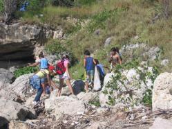 ciencia de cuba_portal de la ciencia cubana_niños y educación ambiental en cuba_limpieza de las costas de santiago de cuba (6)