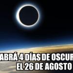 Respuestas (LX): ¿Qué pasaría si la Tierra pasara 4 días en total oscuridad?