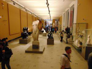 Po wejściu do muzeum...