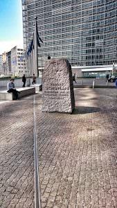 Bruksela - stolica Europy - kamień dla Schumana!