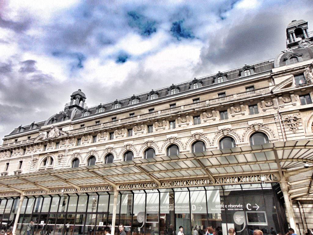 Muzeum d'Orsay z zewnątrz
