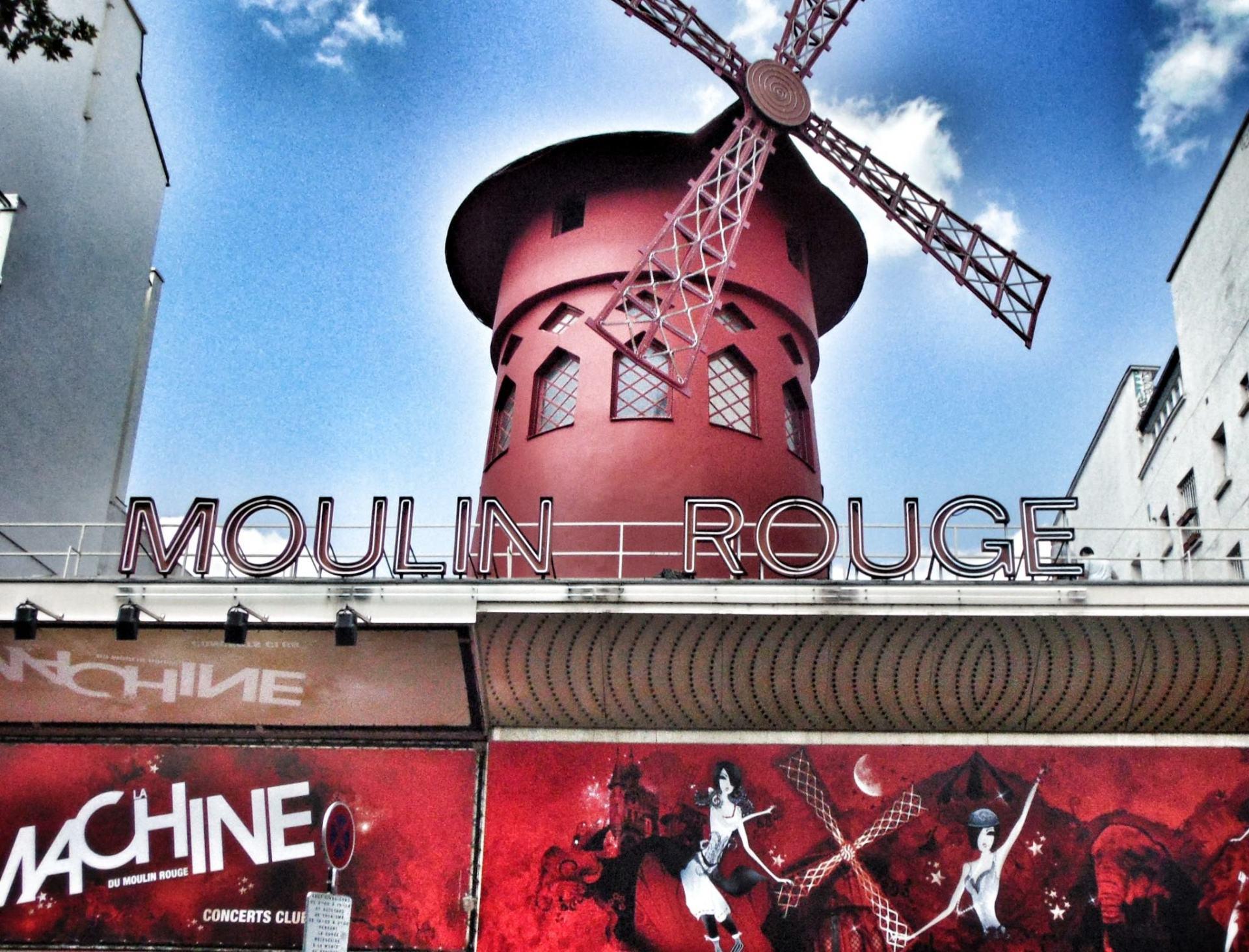 Moulin Rouge i Muzeum Erotyzmu