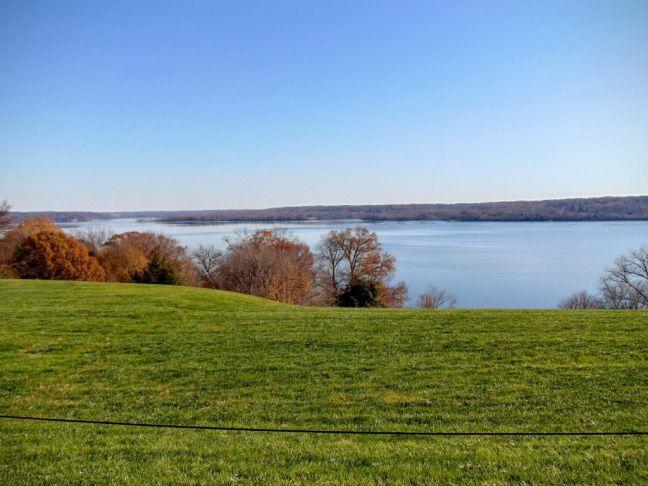Rzeka Potomak - widok z posiadłości