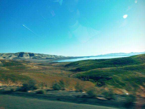 Pierwsze widoki na Amerykańskiej autostradzie